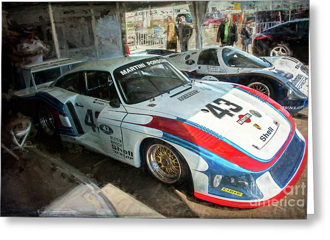 Porsche 935 Moby Dick Greeting Card