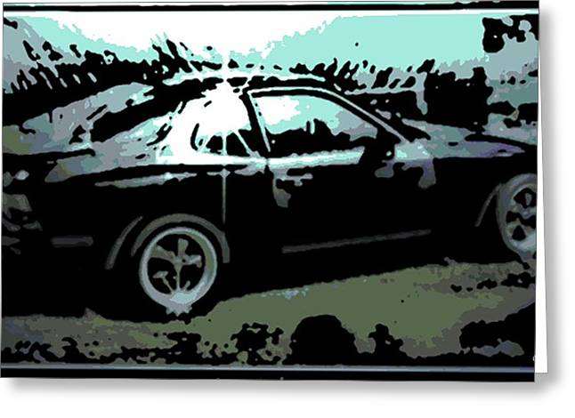 Porsche 944 Greeting Card