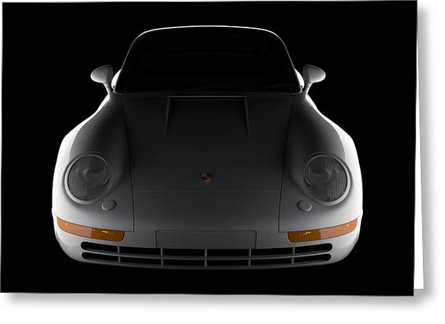 Porsche 959 - Front View Greeting Card