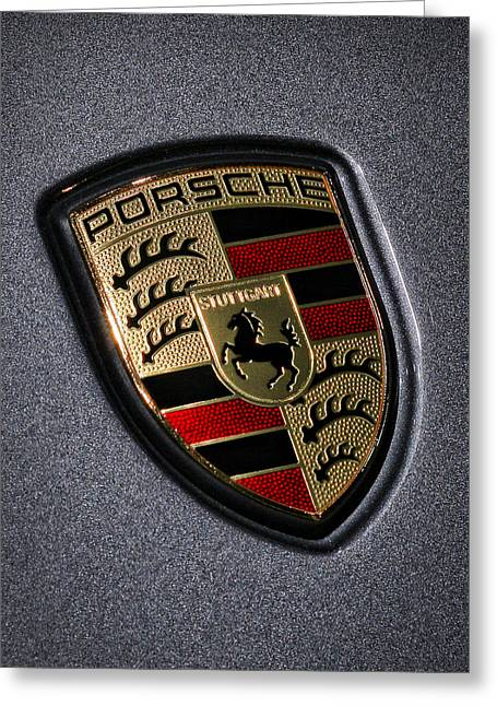 Porsche Greeting Card by Gordon Dean II