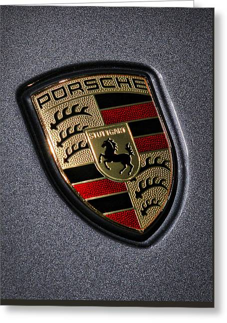 Porsche Greeting Card