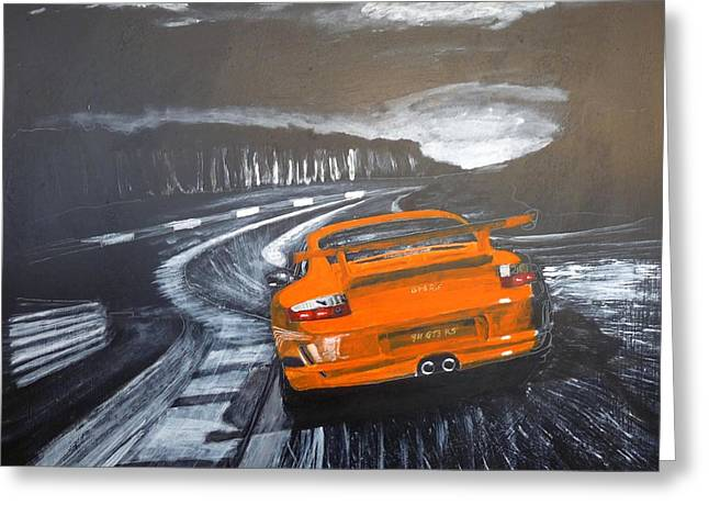Porsche Gt3 @ Le Mans #3 Greeting Card
