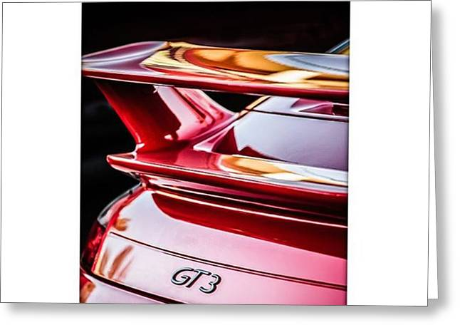 Porsche Gt3. #carphotographer #porsche Greeting Card