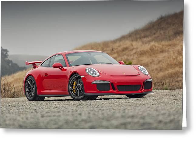 Porsche 991 Gt3 Greeting Card