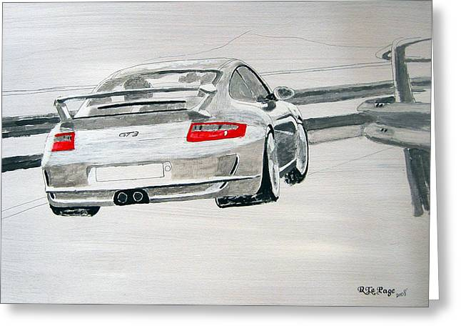 Porsche Gt3 Greeting Card