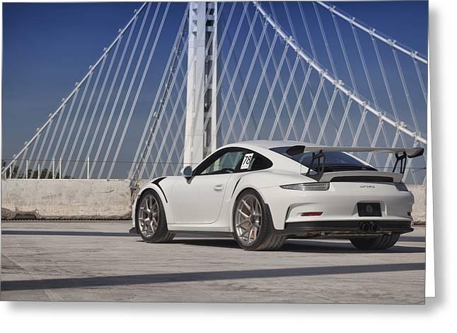 Porsche Gt3rs Greeting Card