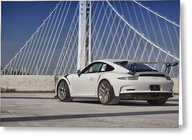 Porsche Gt3rs Greeting Card
