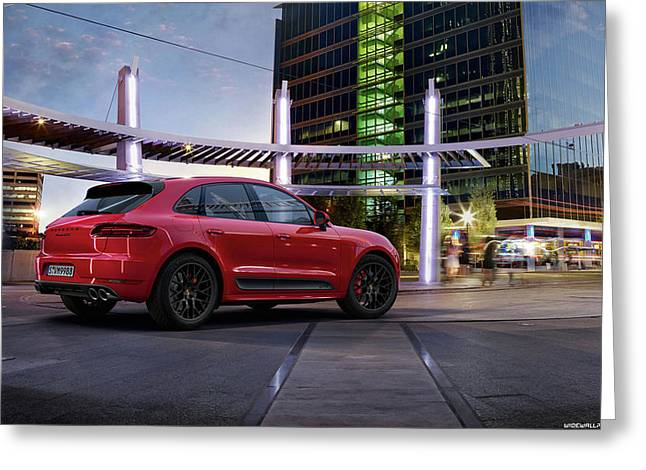 Porsche Macan Gts 2015 1920x1200 011 Greeting Card