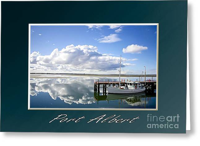 Port Albert Greeting Card by James  Dierker