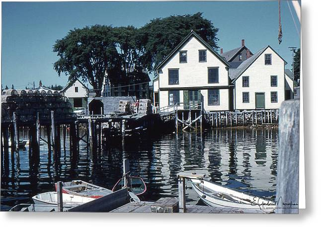 Port Clyde Maine Greeting Card