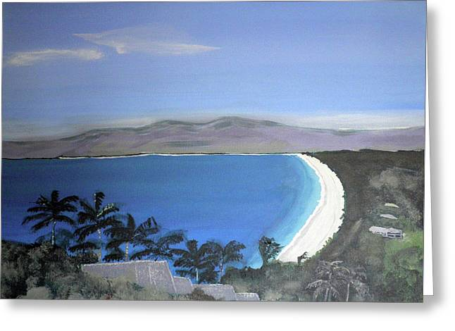 Seascape Australia      Greeting Card by Kate Farrant