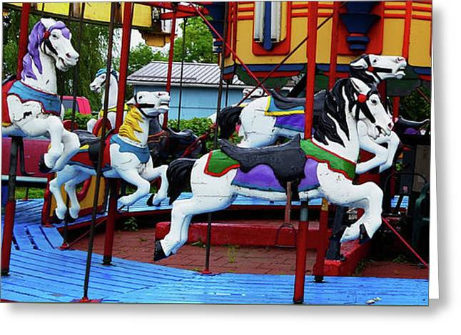 Port Dover Carousel Greeting Card