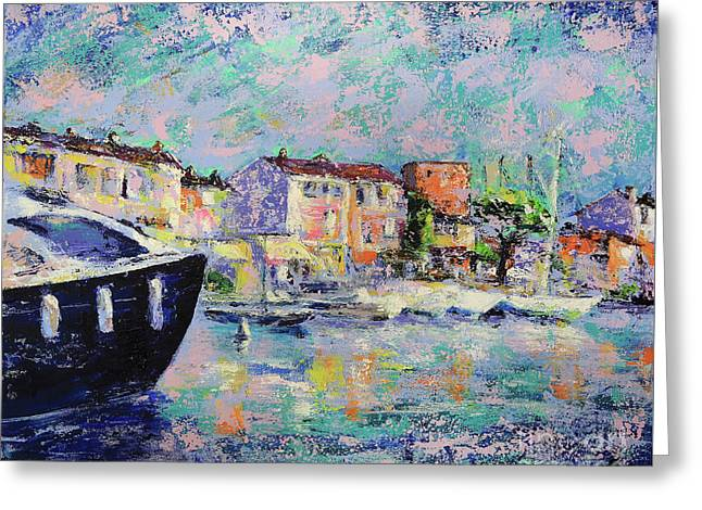 Port Grimaud  Greeting Card by Denys Kuvaiev