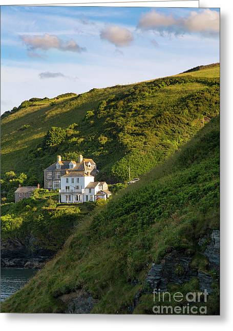 Greeting Card featuring the photograph Port Isaac Homes by Brian Jannsen