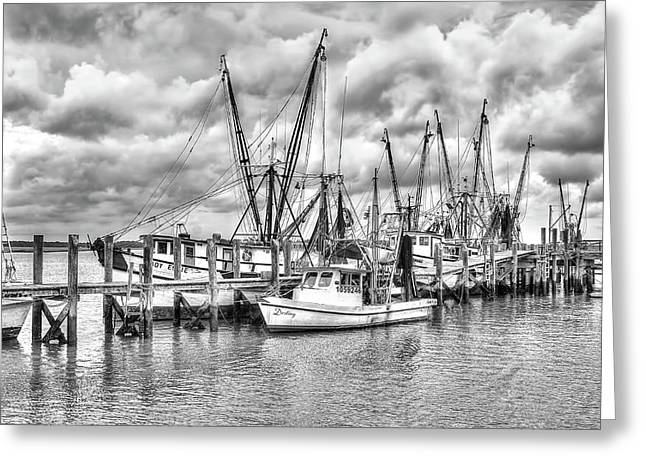 Port Royal Docks Greeting Card