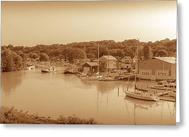 Port Stanley Waterway Greeting Card