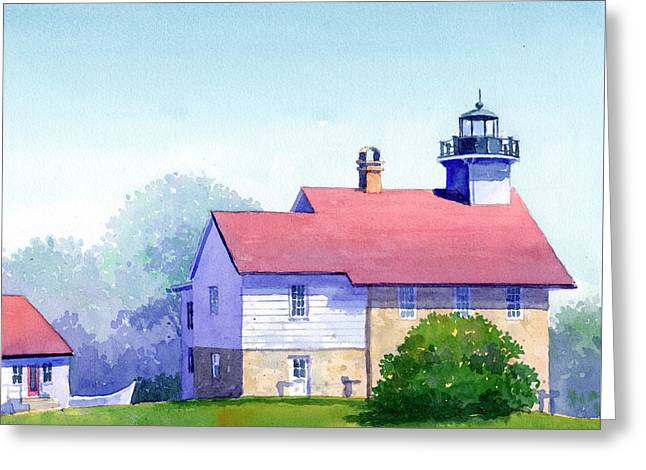 Port Washington Lighthouse Greeting Card