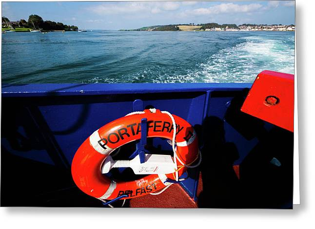 Portaferry Ferry Greeting Card