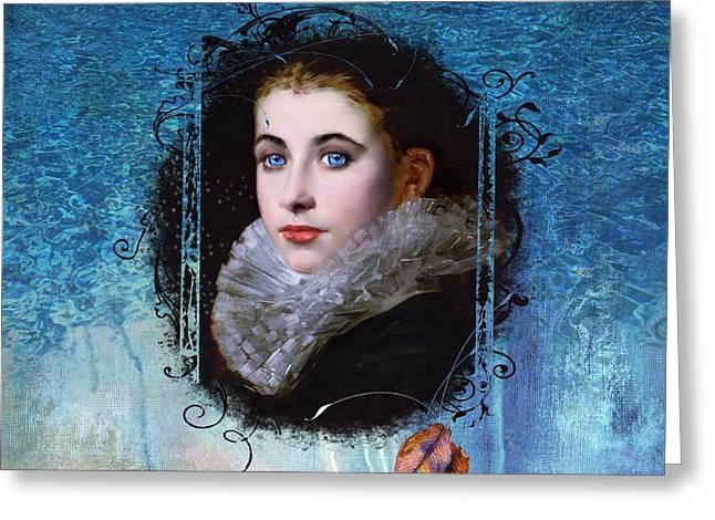 Portal Portrait Greeting Card