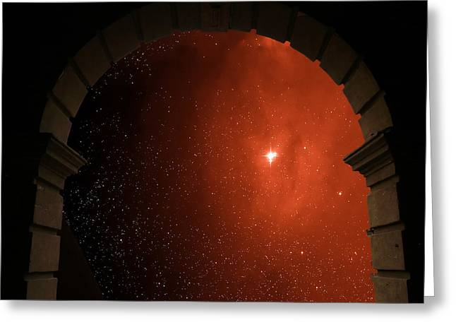 Portal To Ophiuchus  Greeting Card by Jim DeLillo