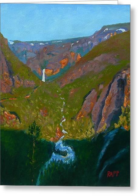Portal To Yosemite Greeting Card by Jan Rapp
