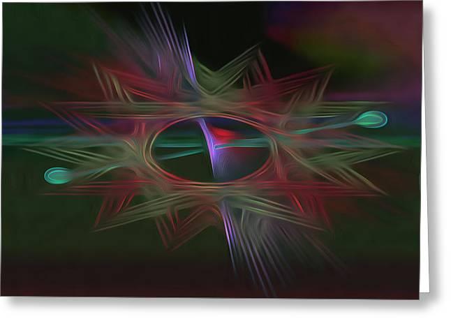 Portal 1 Greeting Card by  Fli Art