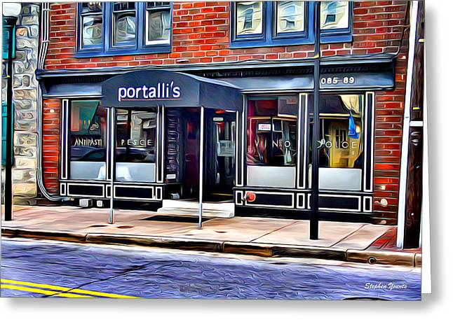 Portalli's Greeting Card by Stephen Younts