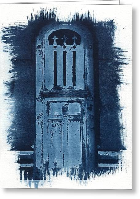 Portals Greeting Card by Jane Linders