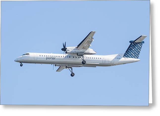 Porter Airlines Greeting Card