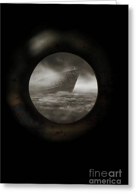 Porthole View Greeting Card