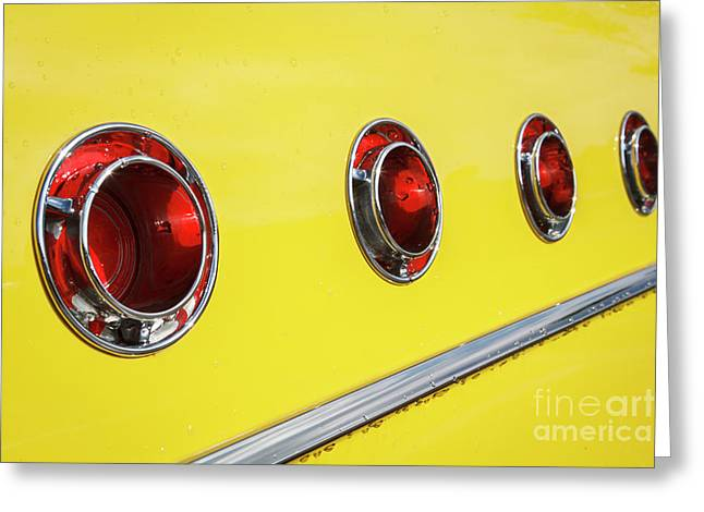 Greeting Card featuring the photograph Portholes by Dennis Hedberg