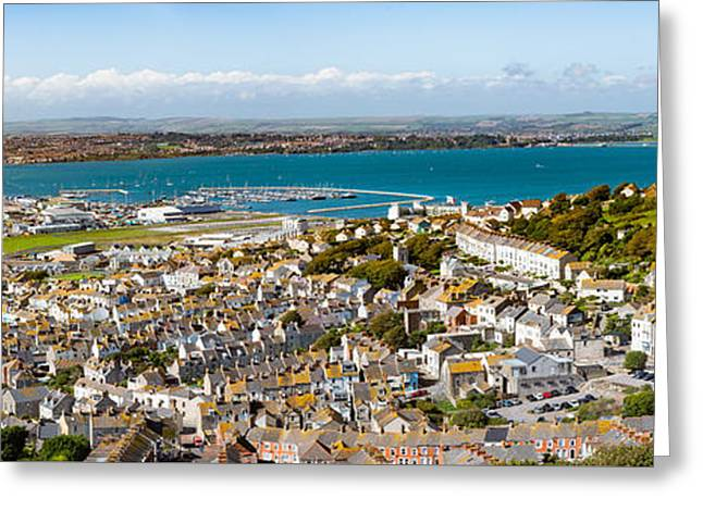 Portland And Chesil Beach Greeting Card