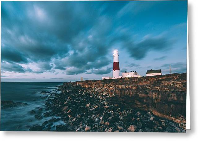 Portland Bill Dorset Greeting Card