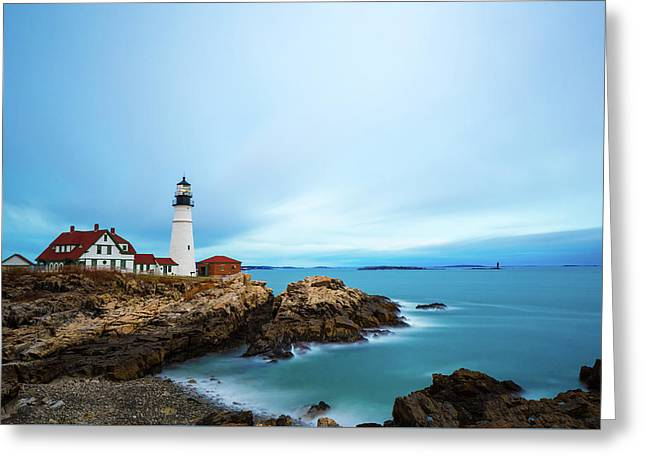Portland Head Light 1 Greeting Card