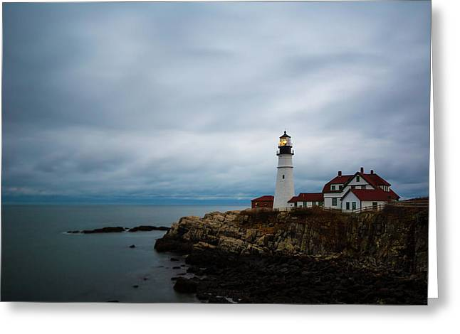 Portland Head Light 2 Greeting Card
