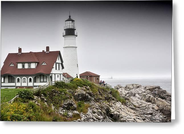 Portland Head Light - Maine Greeting Card