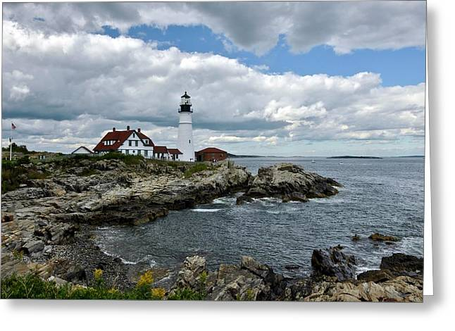 Portland Head Light, Starboard Greeting Card