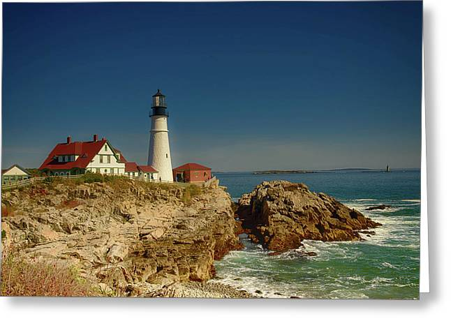 Portland Head Lighthouse 2 Greeting Card