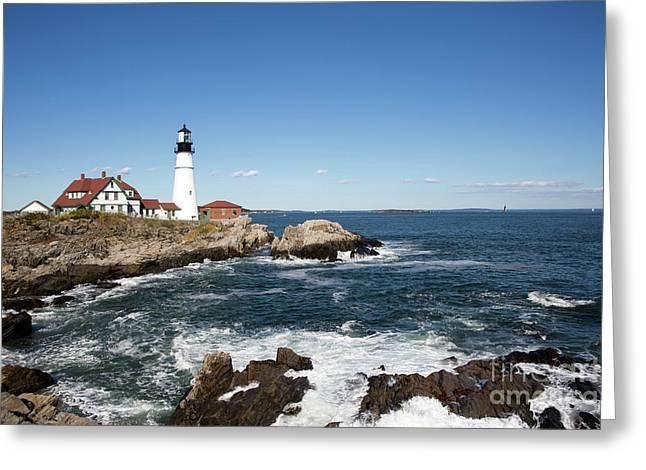 Portland Head Lighthouse Maine Greeting Card