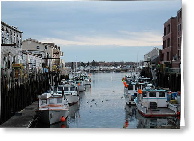 Portland Maine  Greeting Card