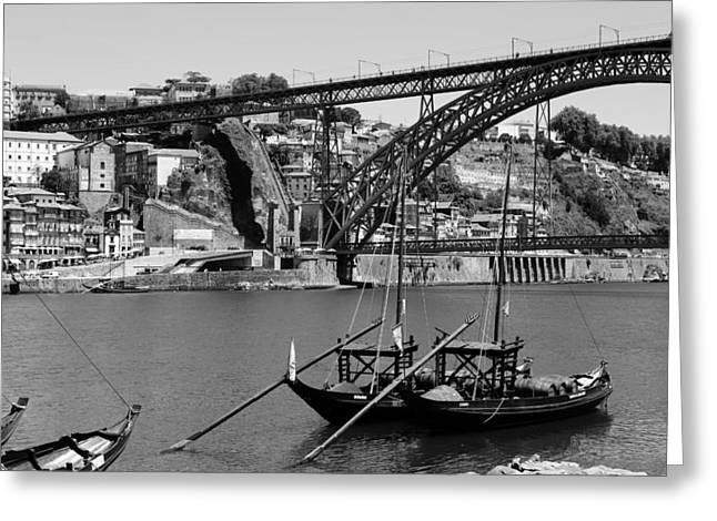 Porto 10b Greeting Card by Andrew Fare