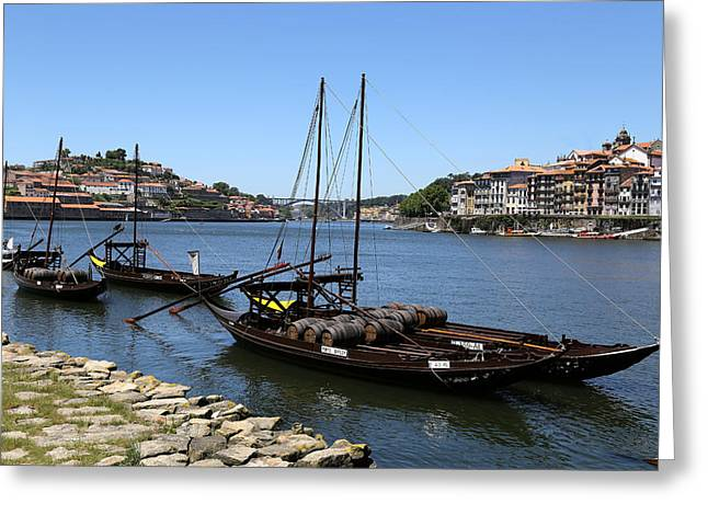 Porto 11 Greeting Card by Andrew Fare