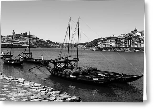 Porto 11b Greeting Card by Andrew Fare