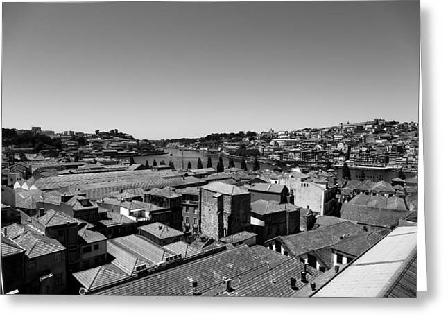 Porto 12b Greeting Card by Andrew Fare