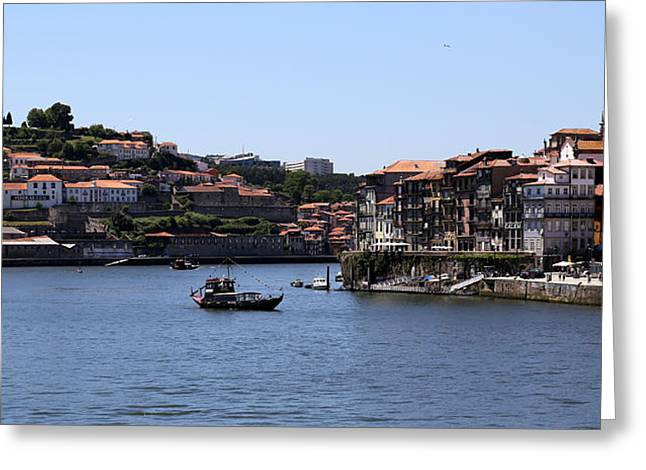 Porto 14 Greeting Card by Andrew Fare