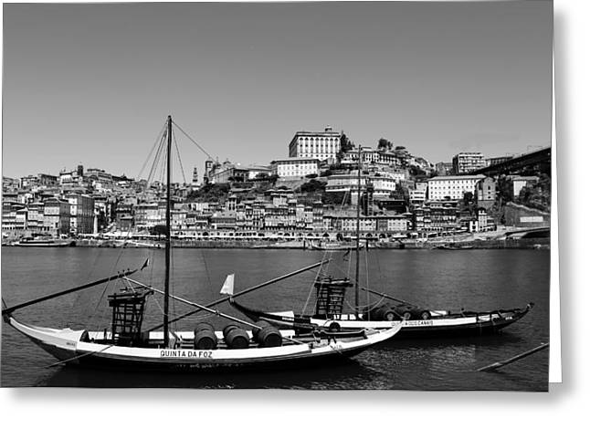Porto 8b Greeting Card by Andrew Fare