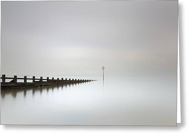 Greeting Card featuring the photograph Portobello, Edinburgh by Grant Glendinning