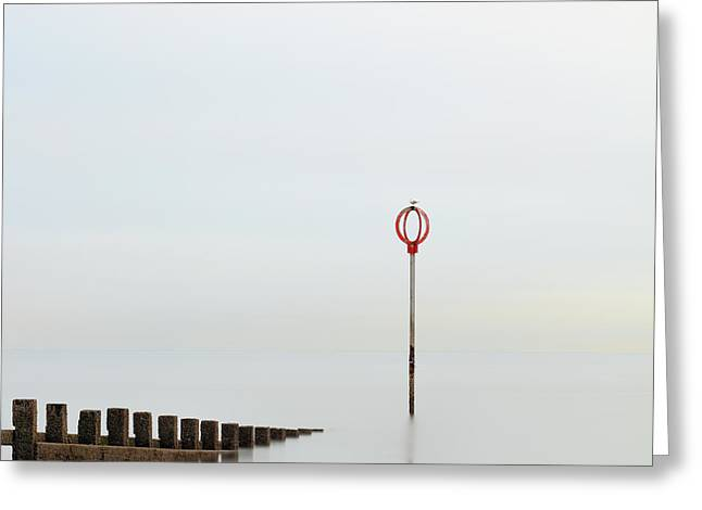 Greeting Card featuring the photograph Portobello by Grant Glendinning