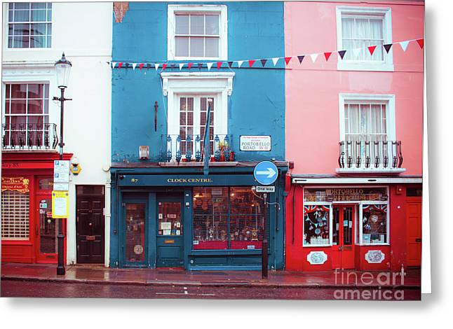 Portobello Road Greeting Card