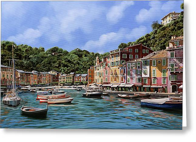 Portofino Nel 2012 Greeting Card